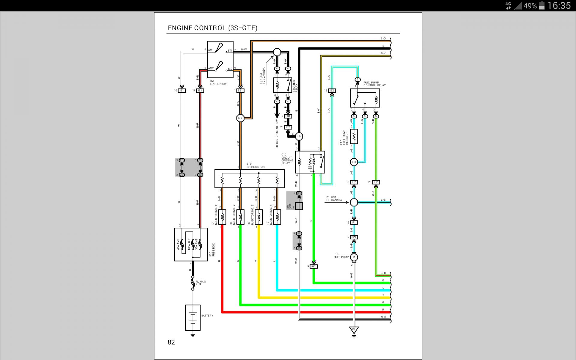 Ausgezeichnet Toyota Celica Schaltplan Fotos - Elektrische ...